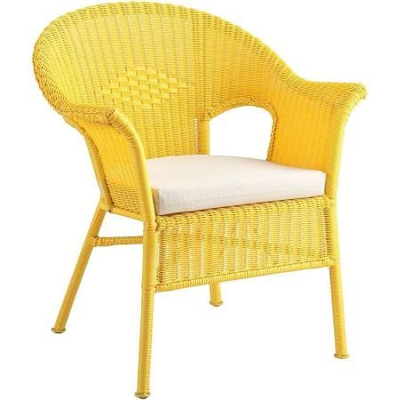 Charmant Yellow Wicker Chair   Google Search