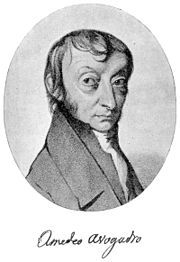 "Avogadro's law states that, ""equal volumes of all gases, at the same temperature…"