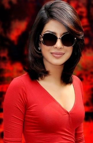 Top 9 Indian Hairstyles for Short Hair | Priyanka Chopra | Pinterest ...
