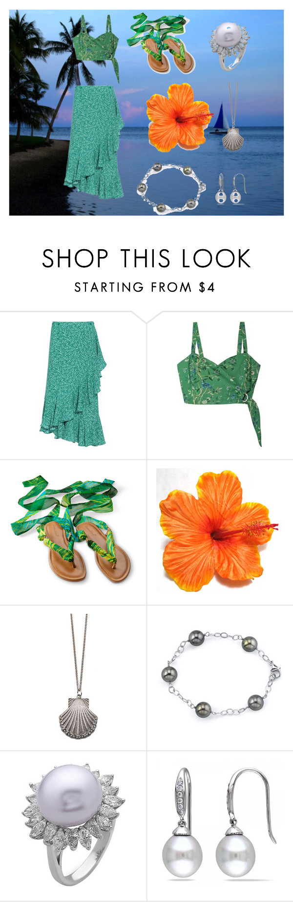 """""""mermaid costume"""" by nymph337 on Polyvore featuring Rodebjer, Samantha Pleet, Chicnova Fashion and Allurez"""