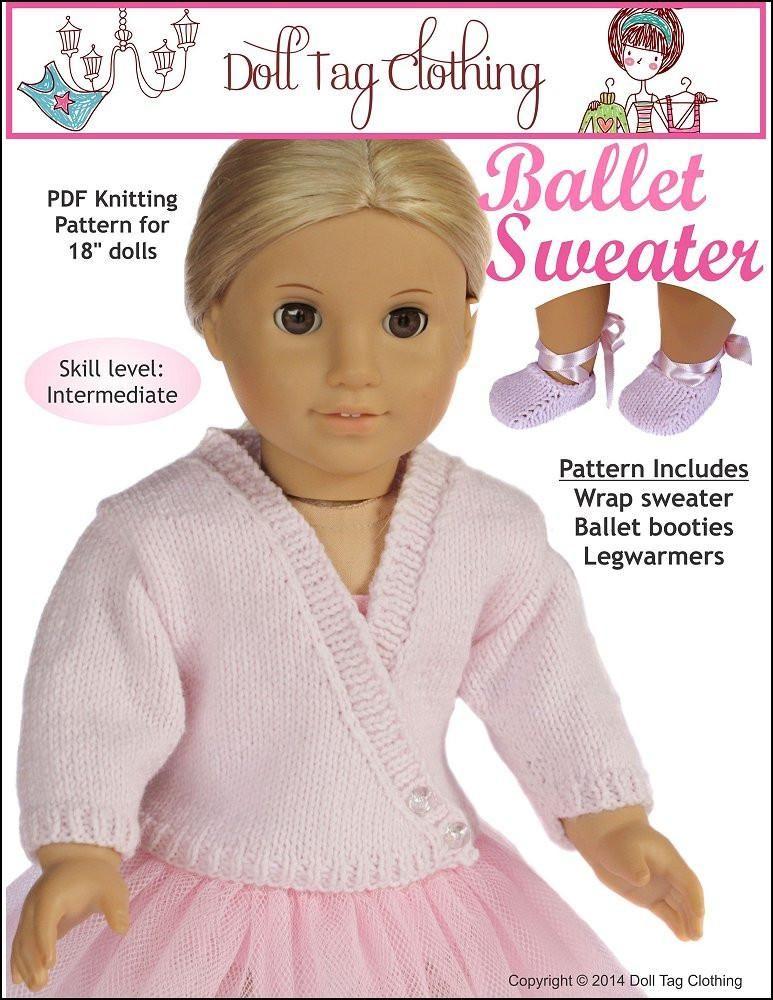 Ballet Sweater Knitting Pattern
