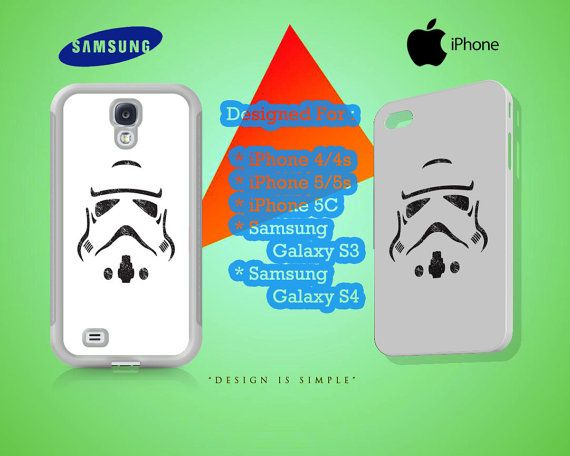 Stormtrooper Face Case for iPhone 4/4S iPhone by KuntiDesign, $16.00