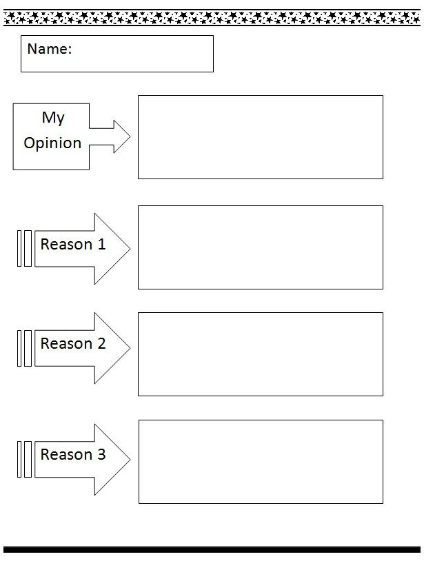Ideas For Opinion Letters Examples For Kids  Download MyOpinion