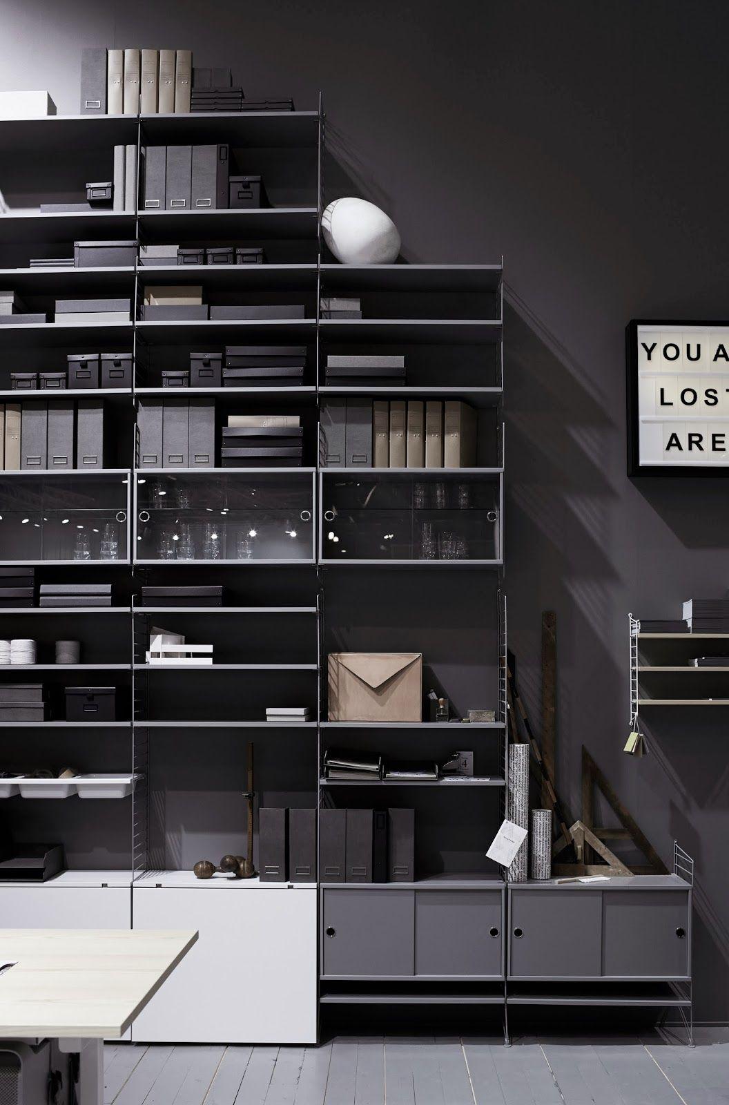 Stockholm Furniture And Light Fair 2014 Shelving String System  # Muebles Gamma San Juan