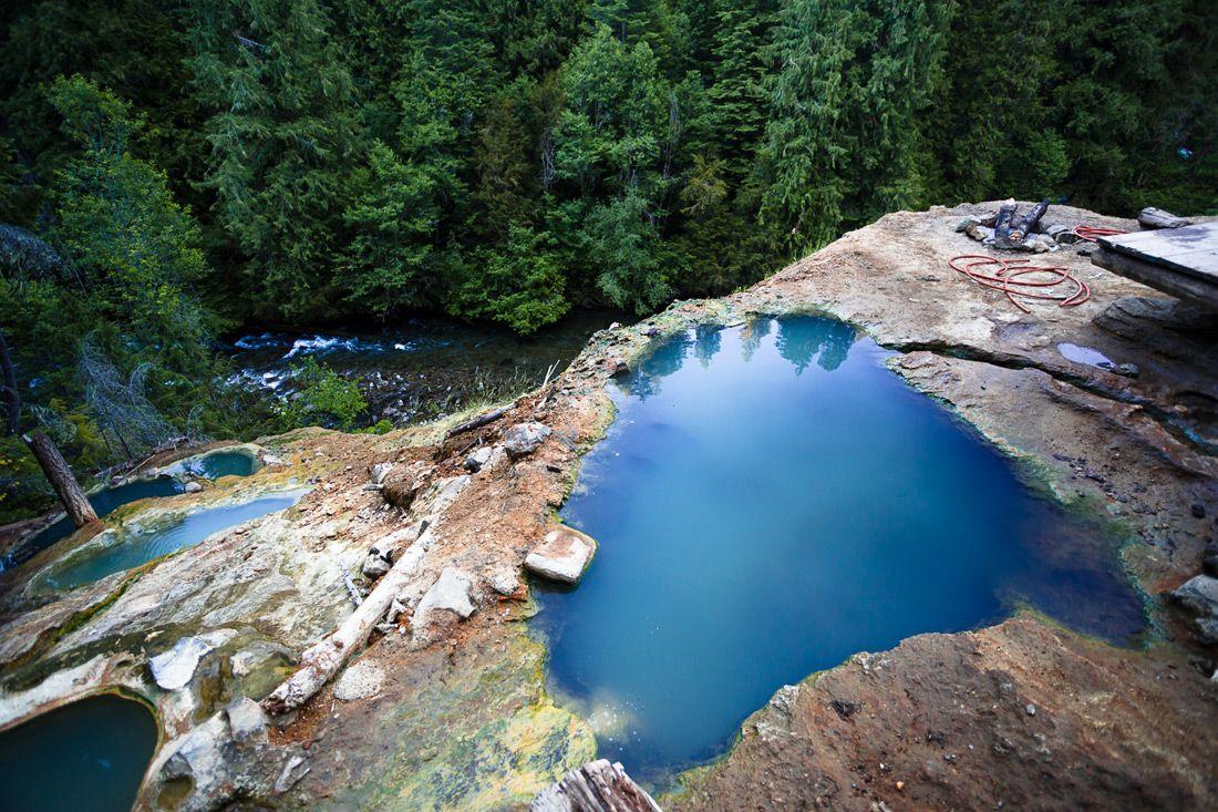 North Umpqua Hot Springs near Toketee Falls