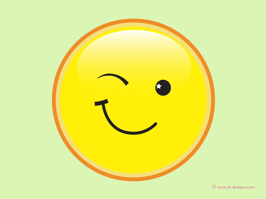 cute and animated smiley faces