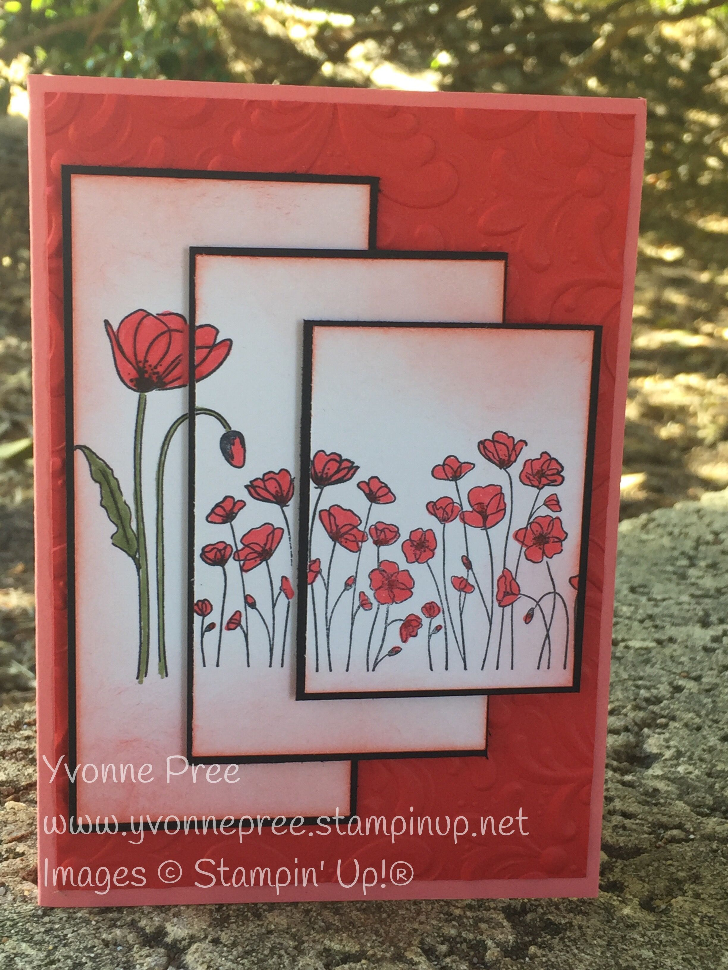 Pin By Liz Encinias On Cards To Make In 2020 Stampin Up Birthday Cards Poppy Cards Stamping Up Cards