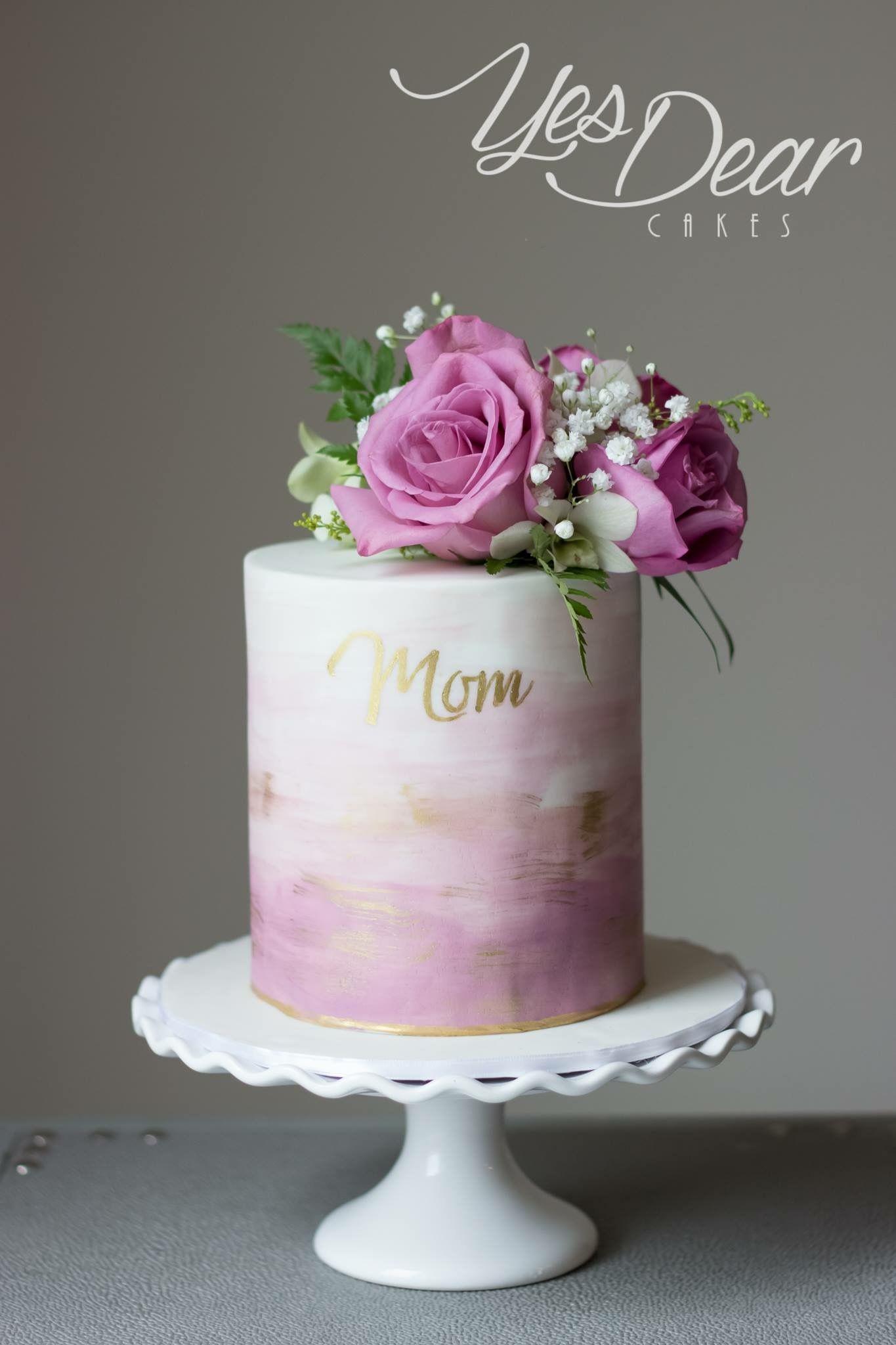 Pin by Wanda Snuttjer on Cakes Buttercream birthday cake
