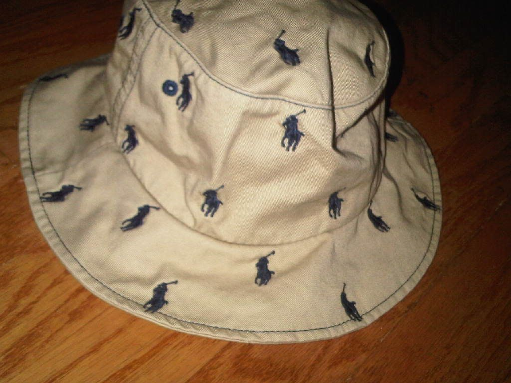 73bb3f2518d23 POLO ALL OVER BUCKET HAT
