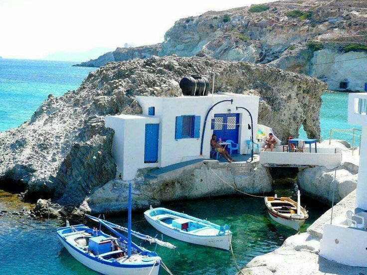 The Greek island of Kimolos (κιμωλος). Travel, Road