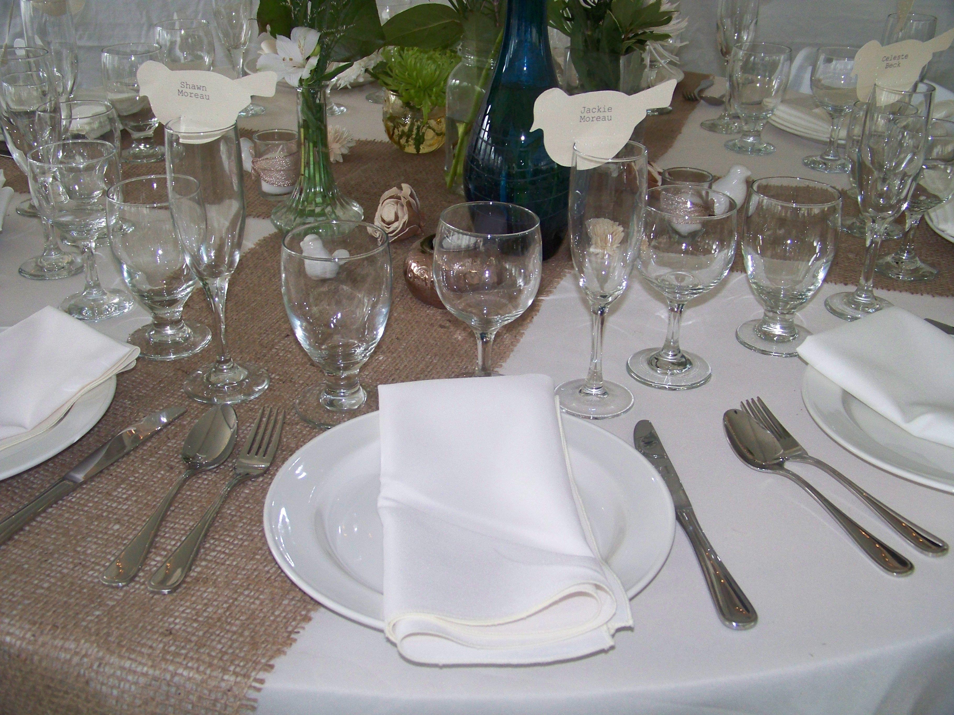 Cute table name tags. Table setting. Joyful Moments   Joyful Moments ...