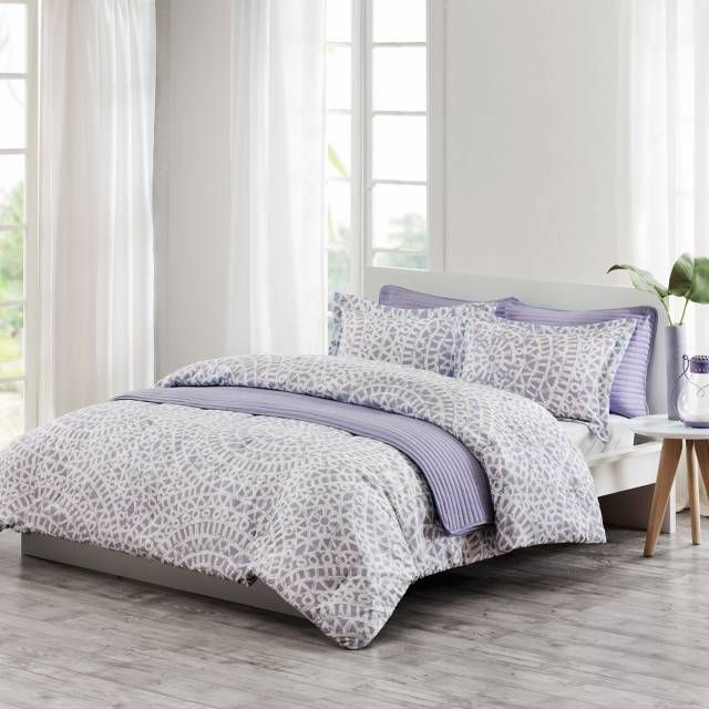 Product Image For Echo Design Mykonos Quilt Mini Set In Lilac