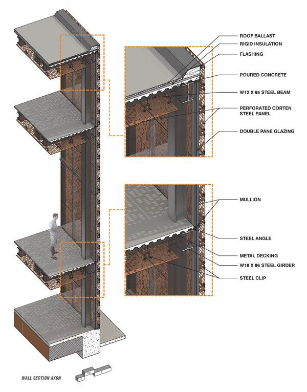 Rendered Assembly New Orleans Culinary Institute On Behance Orleans School Architecture New Orleans