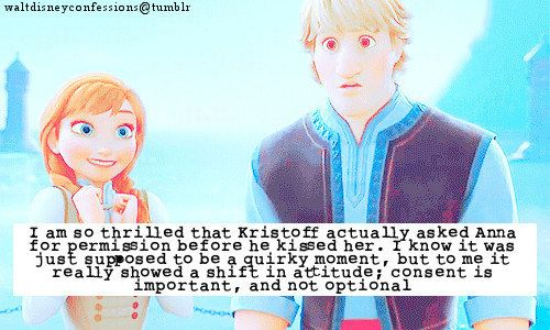 Anna also chose to be kissed - both times | 23 Times Disney Princesses Were Actually Feminists