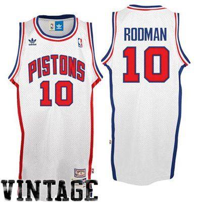 best service 4d58d 04d70 adidas Dennis Rodman Detroit Pistons Soul Swingman Throwback ...