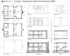 Esherick House, Chestnut Hill PA (1959 61) | Louis Kahn | Archweb