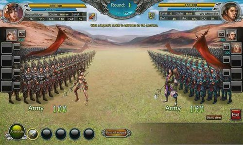 War of Legends is a flash-based Browser Based, Free to play