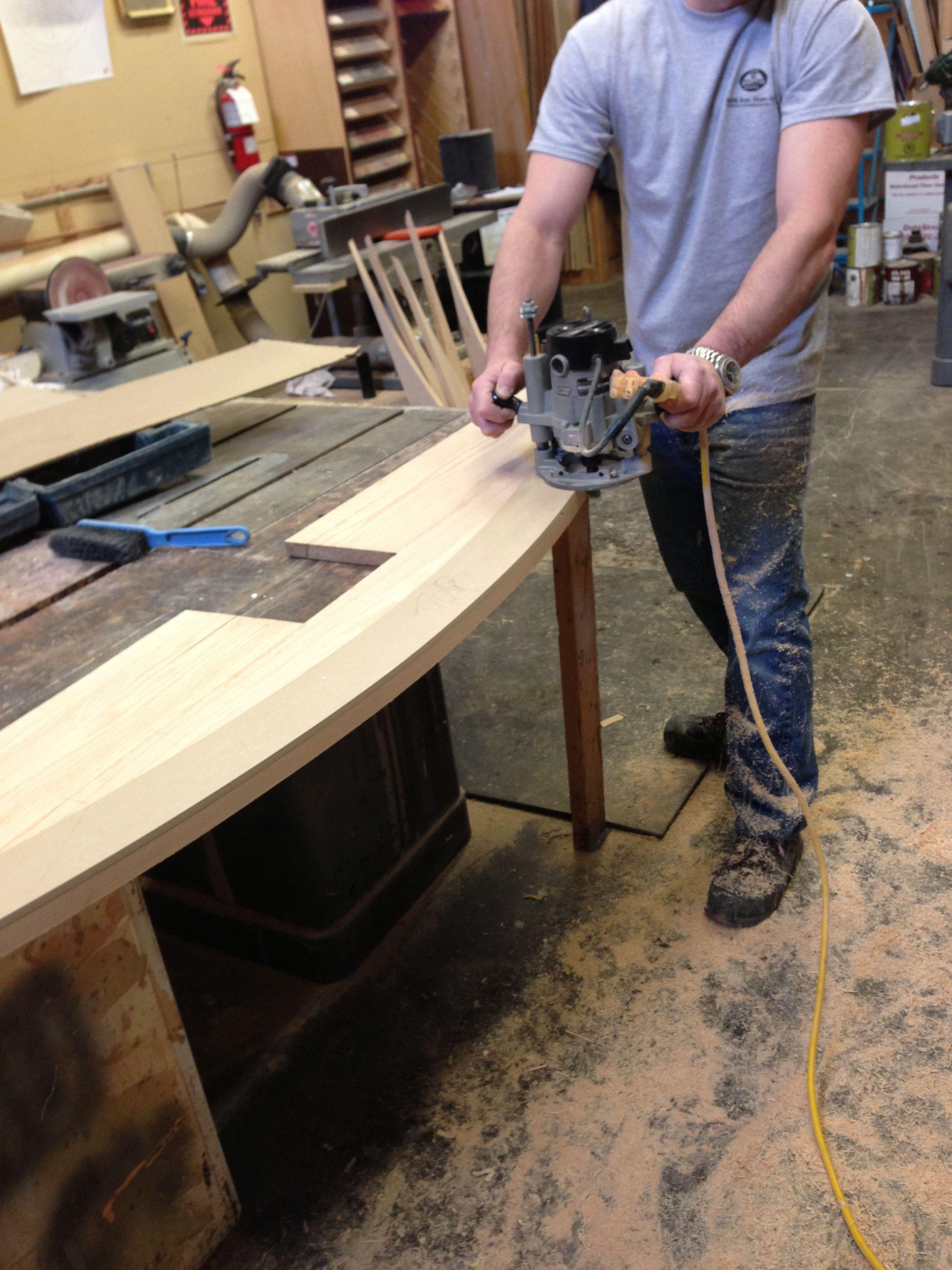 Best Custom Red Oak Hardwood Stair Tread Fabrication Red Oak 400 x 300