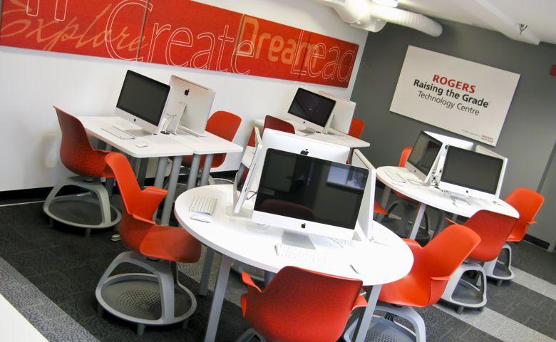 Superb Computer Room Design Ideas Part - 2: Decorating Ideas For Computer Room2 · Computer Lab DesignComputer ...