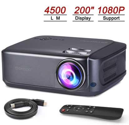 The 10 Best Mini Projectors In 2019 Reviews The Best A Z Best Projector Mini Projectors Projector