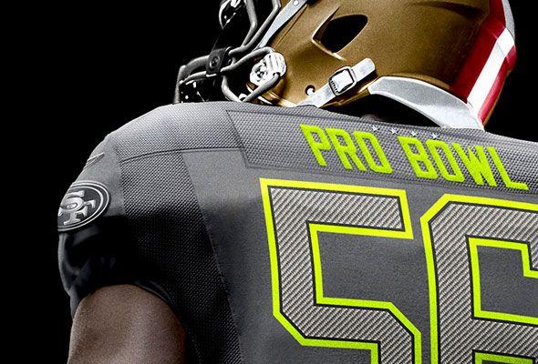 7b557592b Pro Bowl Logo Patch Stars Closeup