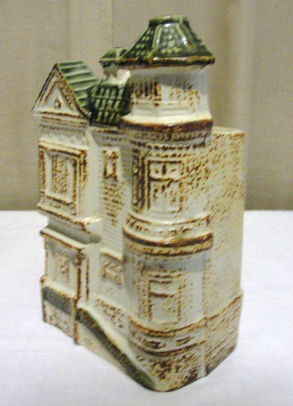 Vintage Otagiri San Francisco Victorian Townhouse Wall Pocket Base