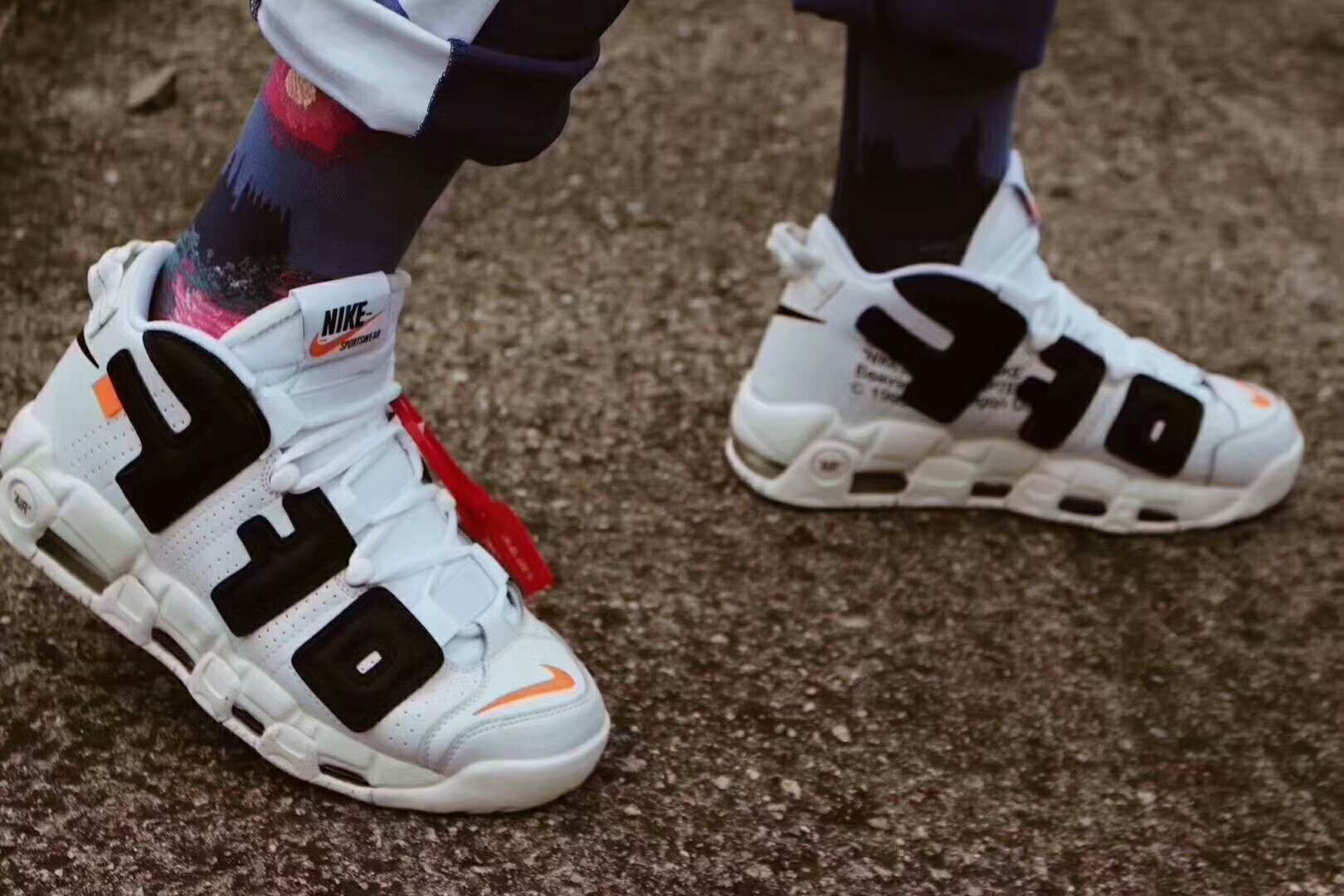low priced 127a0 3b00a Virgil Abloh Off-White x Nike Air More Uptempo