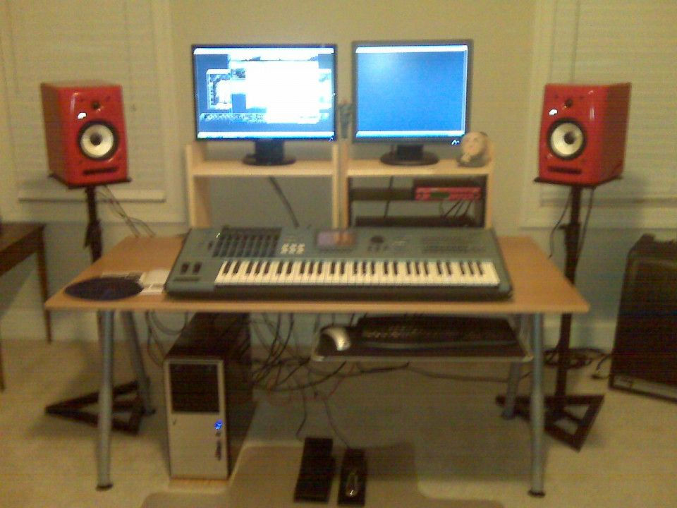 Small Home Studio Desk