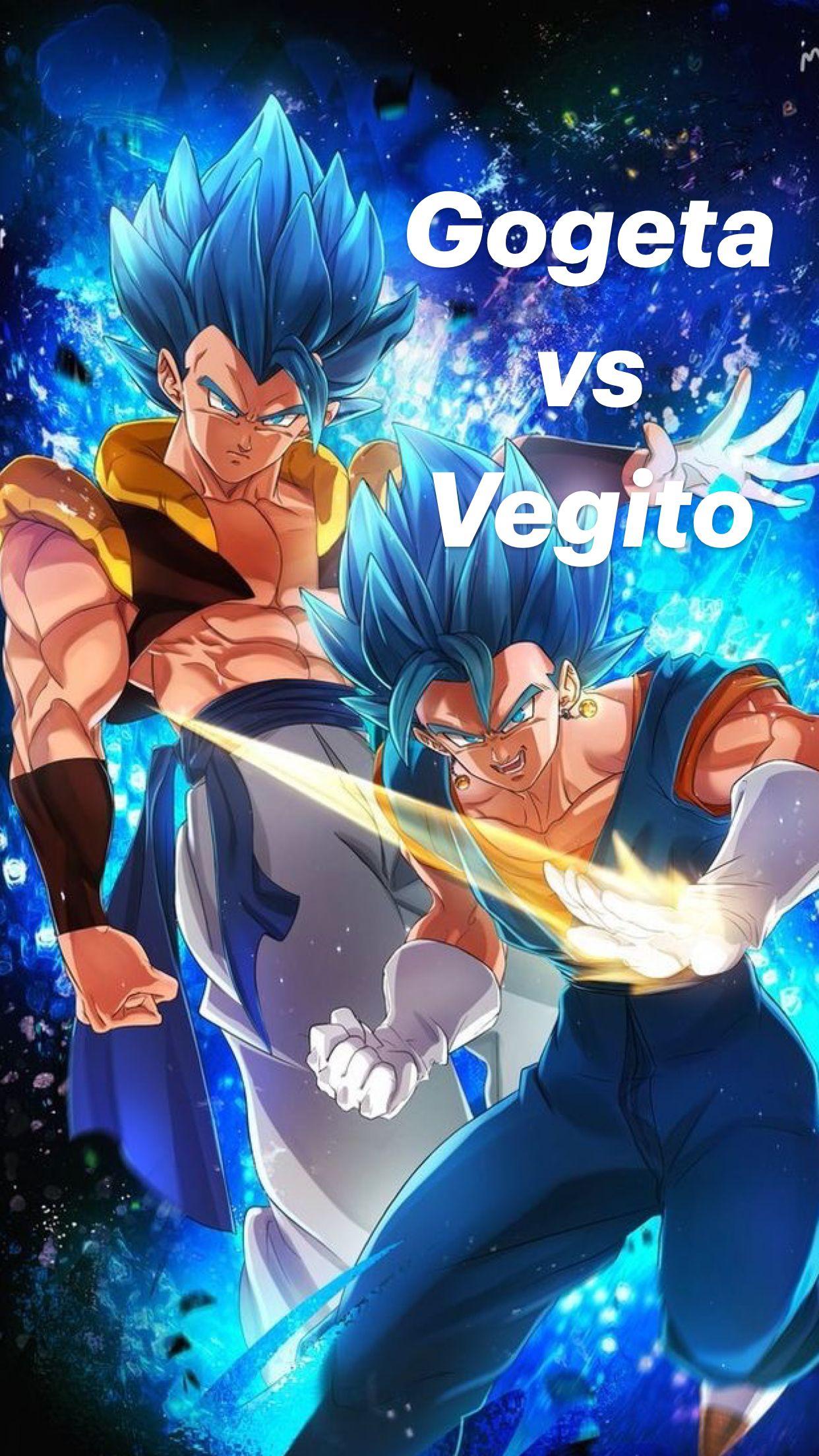 Gogeta  vs Vegito