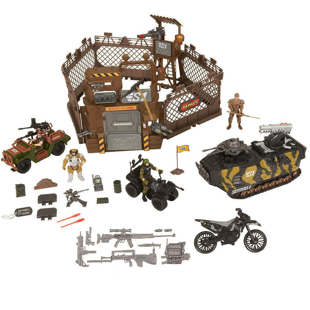 True Heroes Sentinel 1 Military Camp Playset Toys R Us Toys R