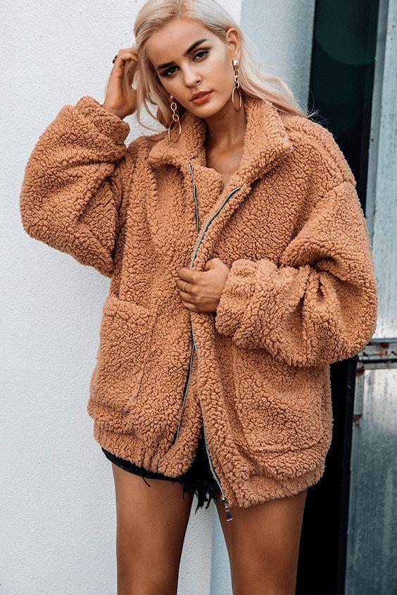 VINTAGE BLACK PLUSH coat  S  hipster jacket coat womens outerwear overcoat jacket