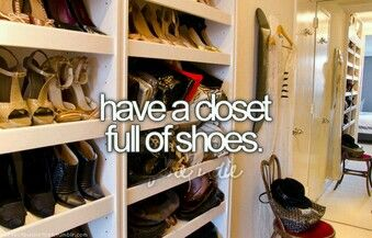 Full of shoes