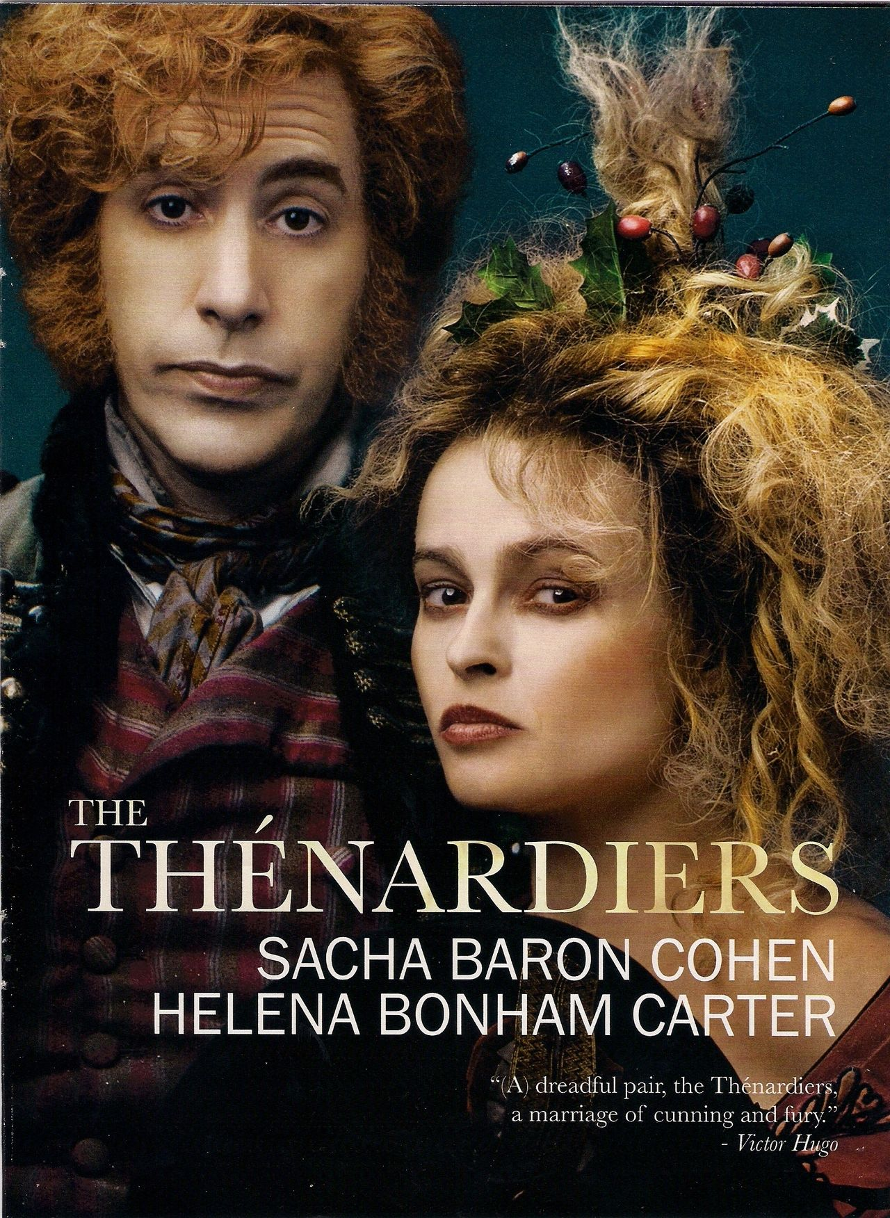 Les Mis 2012 Helena Bonham Carter Sacha Baron Cohen The Thenardiers Les Miserables Les Miserables 2012 Helena Bonham Carter