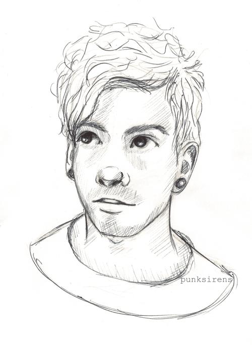 Sketch Of Josh Dun This Is So Good Music Artists Twenty One Pilots Pinterest