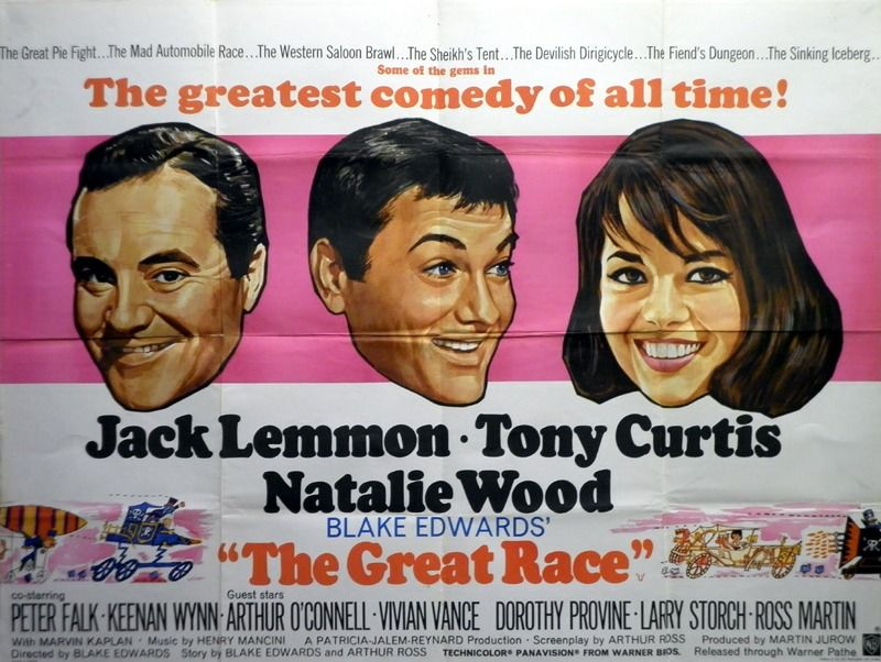 The Great Race Poster, UK Quad, 1965,