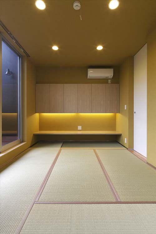 和モダンなインテリア 家は照明デザインがおしゃれ 家具 外観 リビング 玄関の実例 和のインテリア 和室 タタミルーム