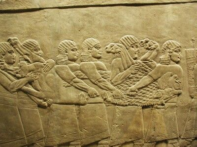 Ortostatos de Nínive.
