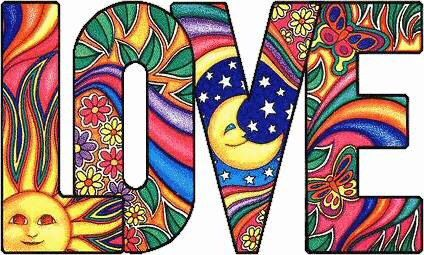 Love made with art on letters