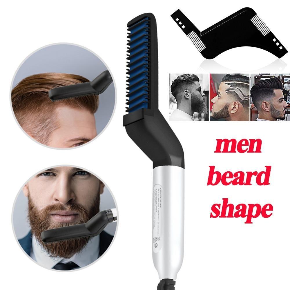 Hair beard straightening comb in 2020 beard