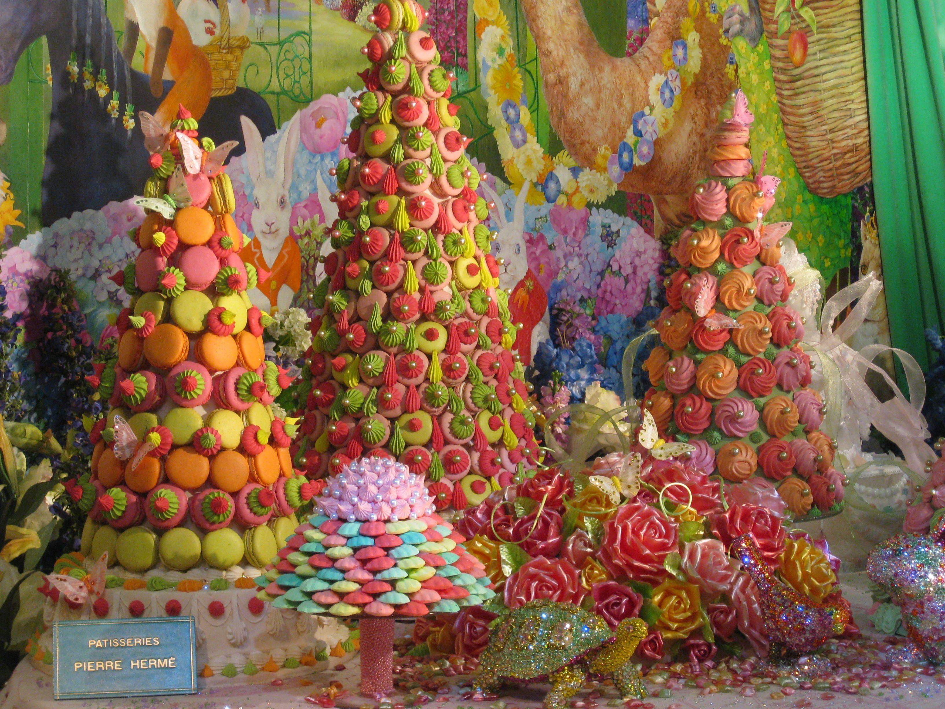 Happy Easter! Pierre Herme Shop Window Fantasy In Paris