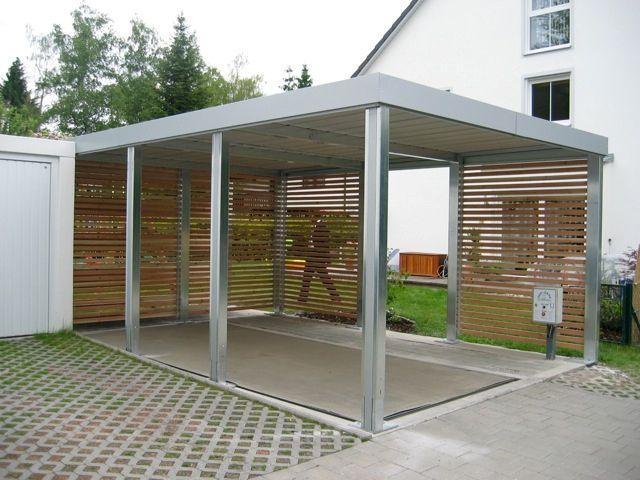 Carports Garagen Lengemann Stahlcarports Varia Carports Carport Und Moderner Eingangsbereich