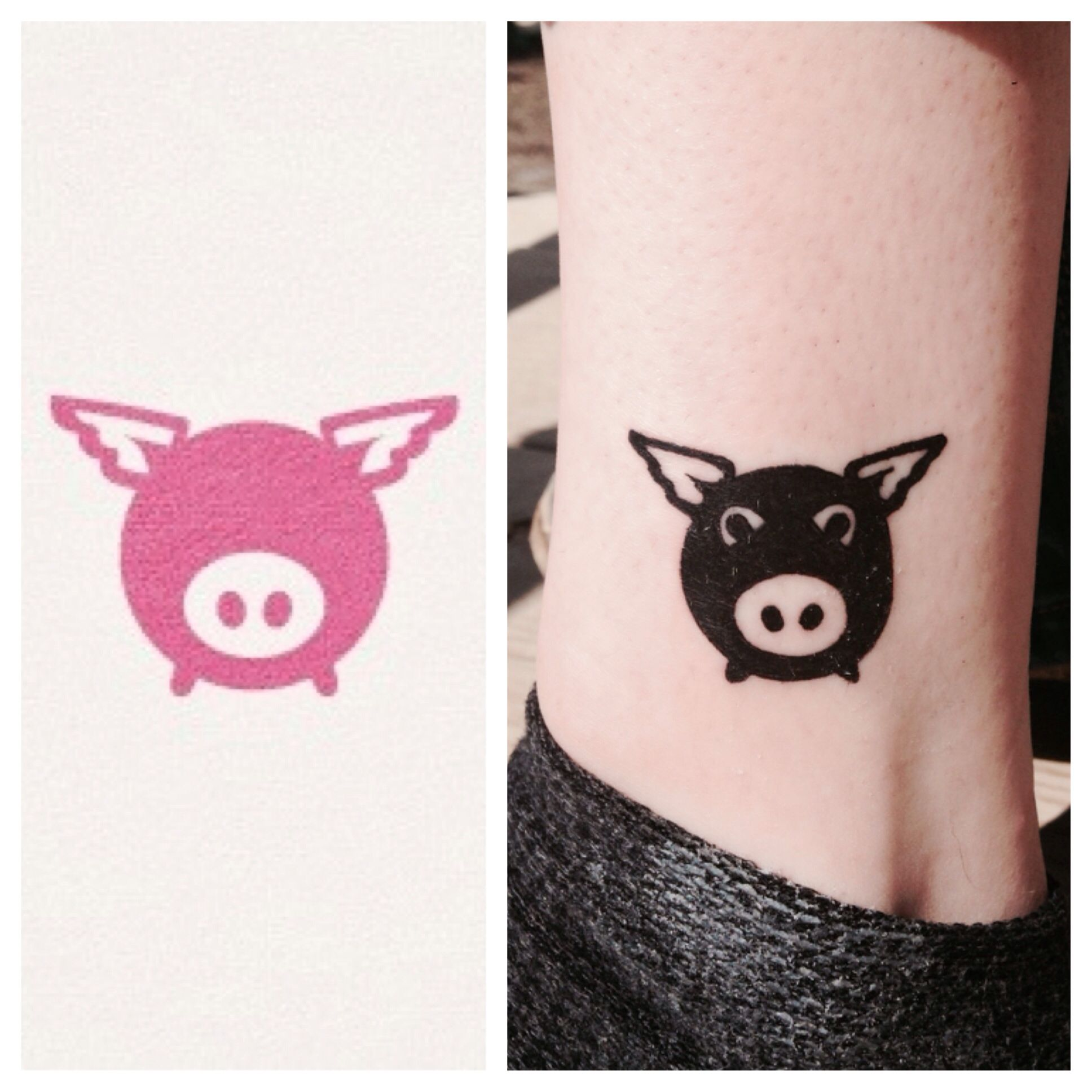 My tattoo when pigs fly