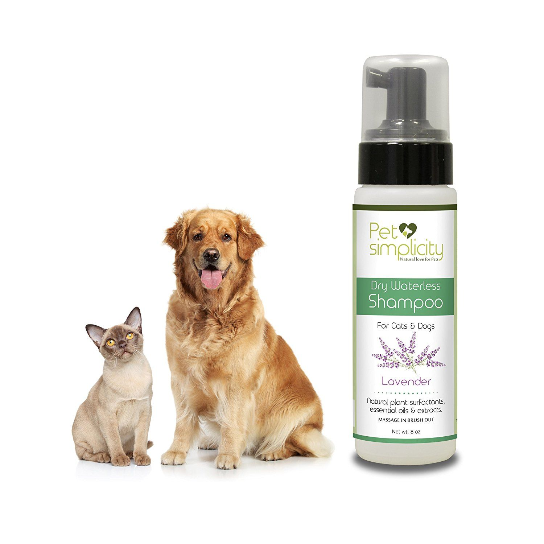 Waterless Cat Shampoo Dry Dog Shampoo With Conditioner And Deodorizer Natural Organic Bathless Foam Pet Wash La Cat Shampoo Dry Dog Shampoo Dog Shampoo