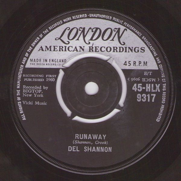 Runaway Del Shannon Carole King Baby Care American Bandstand