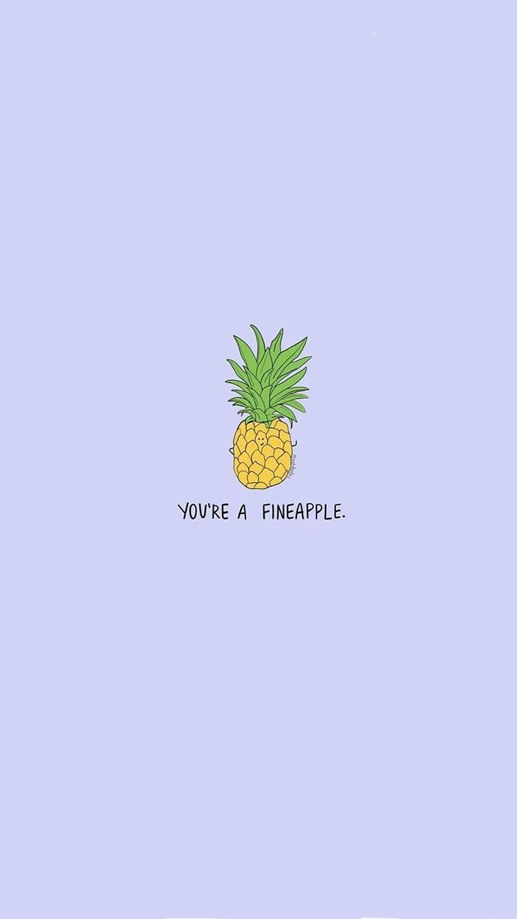 Pinterest Thereallaurensmith Cutewallpapers Cute Pineapple Wallpaper Pineapple Wallpaper Download Cute Wallpapers