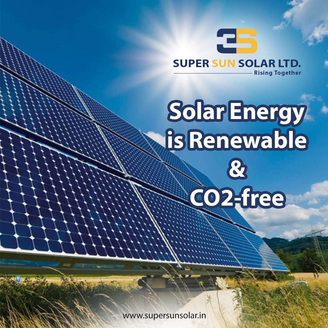 Solar Energy Is Renewable And Co2 Free Now Tap Into This Energy Form In The Most Efficient And Affordable Manner Through Super Su Solar Sun Solar Solar Energy