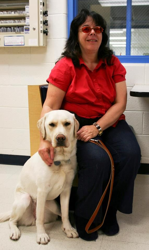 Meet Debra W From Florida And Her New Leader Dog Willow In