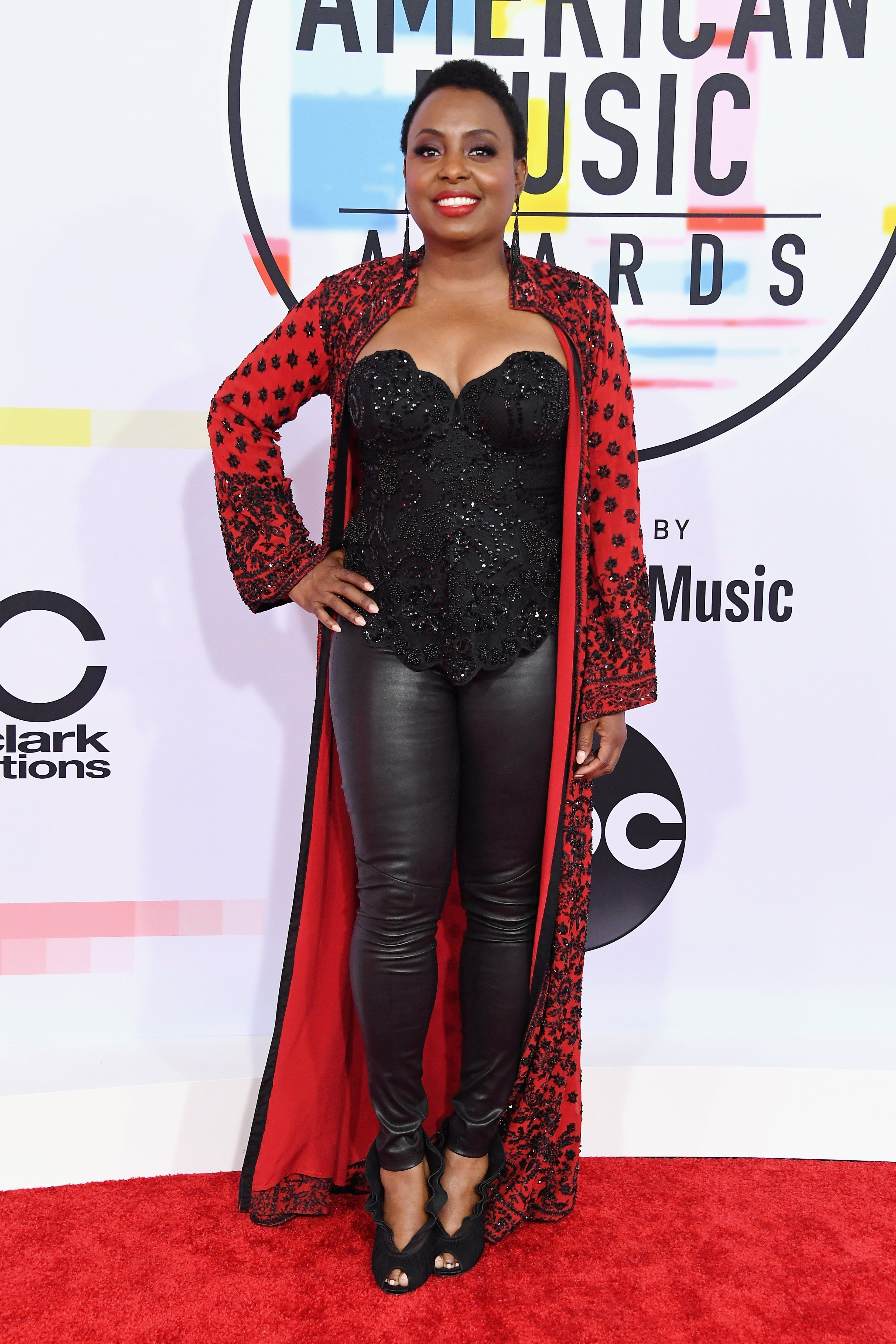 This is the Mystery Celeb Who Slayed the BET Awards Red