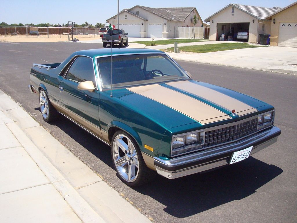 Godson40 S 1985 Chevrolet El Camino In Los Angeles Es Sc Ca