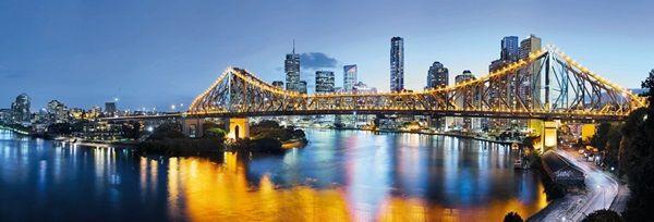 Fotomural Brisbane Xxl2 010 Imagen De Noche De Una De Las Ciudades Mas Importantes De Australia Brisbane Arte De Pared De Arbol Brisbane Fotos Wallpaper